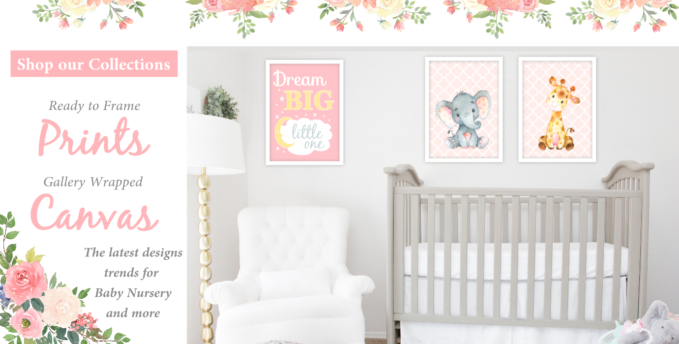 Pink Owl Baby Girl Nursery Wall Art Prints Personalized Twinkle Little Star  Baby Nursery Decor SET OF 4 UNFRAMED PRINTS