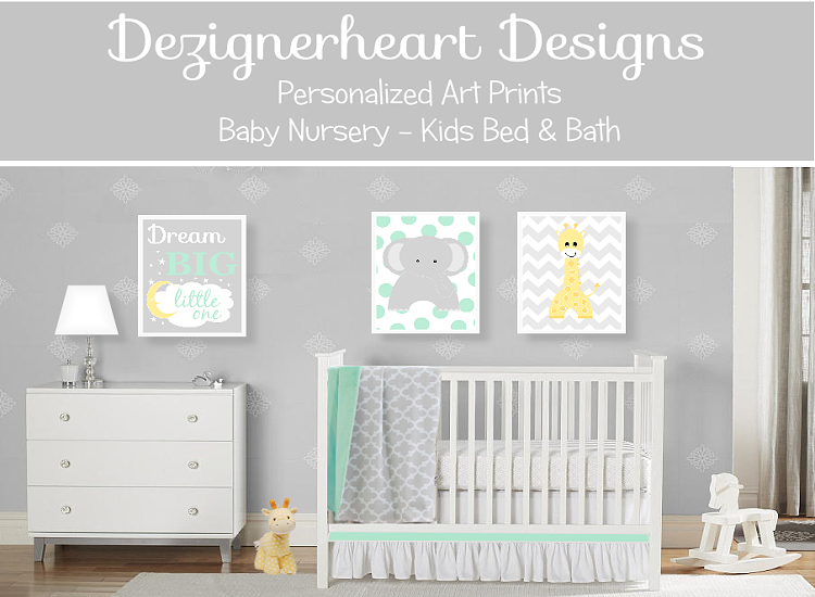 Art for Boys | Dezignerheart Designs | Baby Nursery Decor ...